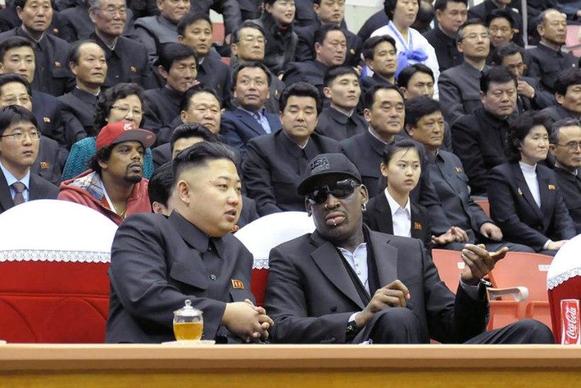 Rodman meenutas pöörast söömaaega Kim Jong-uni seltsis: olime täis nagu sead ja siis hakkas ta karaoket laulma