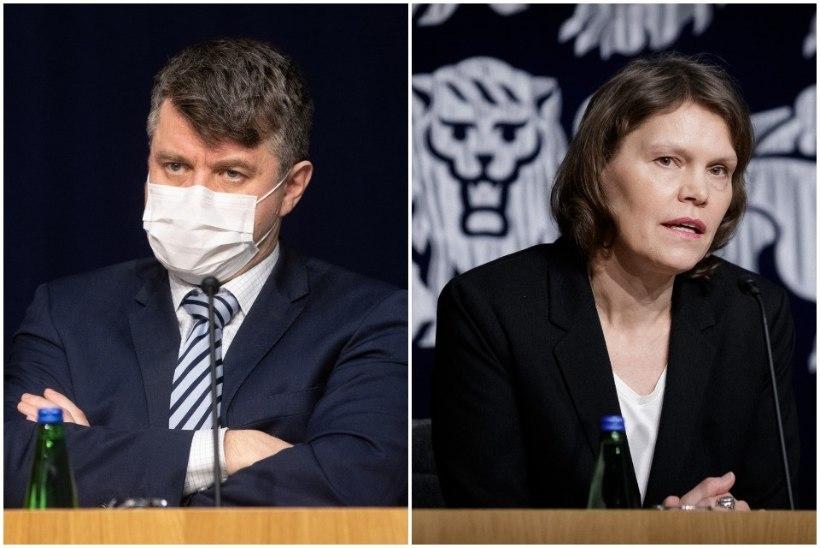 Terviseamet ja valitsus murravad piike koroonameetmete pärast. Jürilo: kriitika jõuab meieni kaude