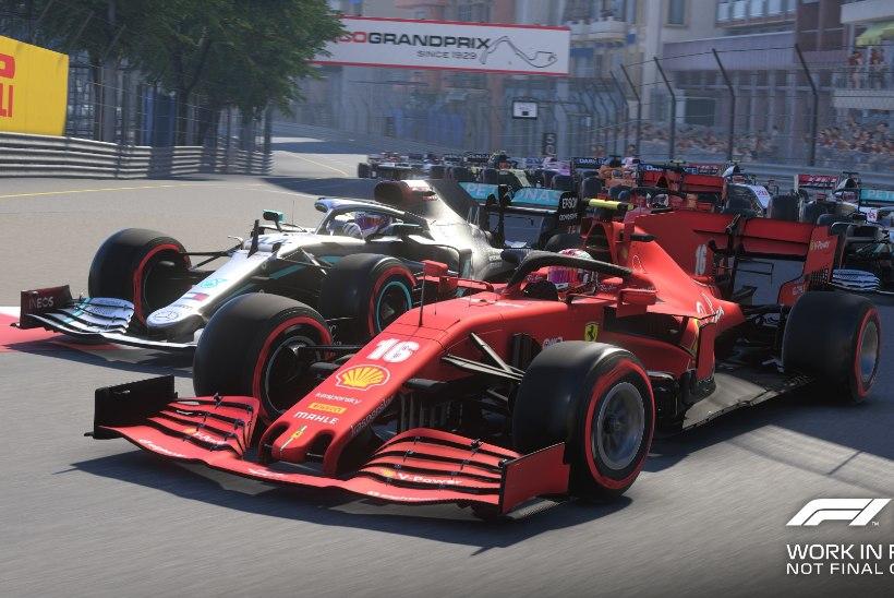 Uues Vormel 1 videomängus saab sõita ringrajal, millel päris piloodid veel võistelnudki pole