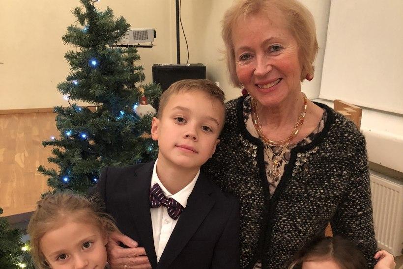 Vahva vanaema! Perearst Mall Lepiksoo rõõmustab ühtehoidva pere üle