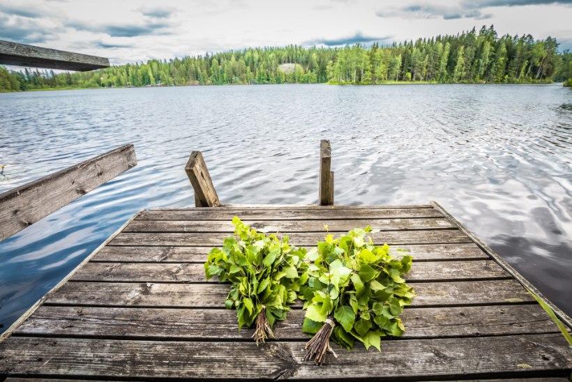 Hiiglama mõnus suvesaun ehk Kuidas meisterdada saunaturbanit või istumisalust?