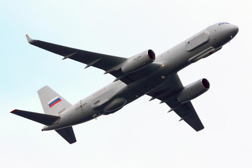 """ESIMENE """"PÄÄSUKE"""": Vene lennuk rikkus Eesti õhupiiri"""