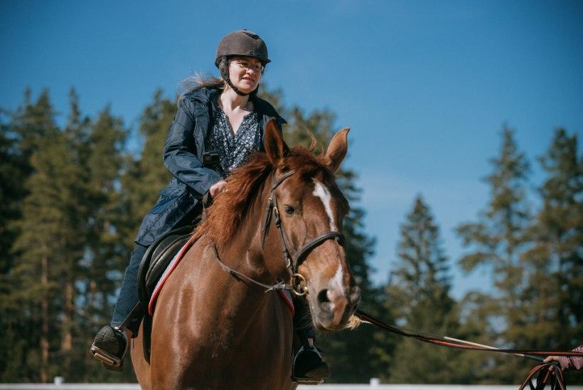 ÕL VIDEO   Esimest korda ratsutamas: nagu hobuse selga sain, oli hirm kadunud