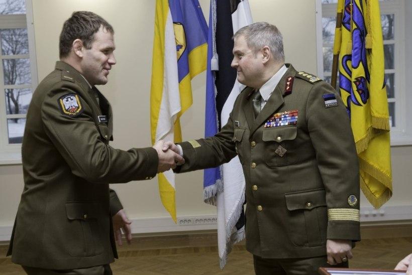 Eesti kaitsevägi likvideerib spordirühma