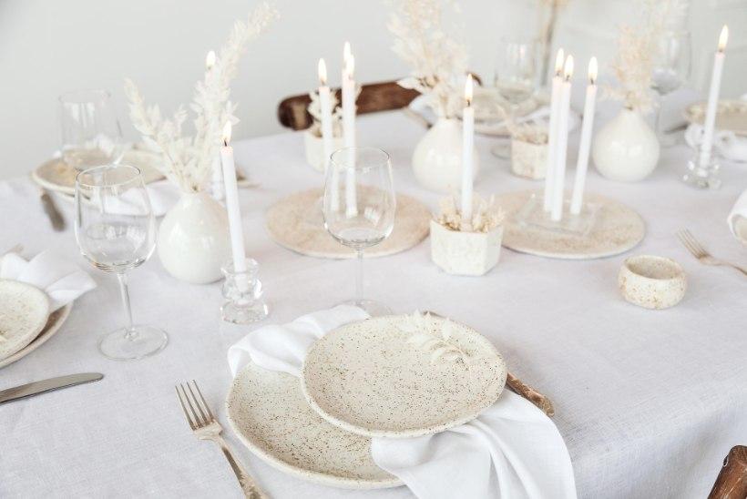 Tähistamiseks valmis: sisekujundaja soovitused, kuidas laud näeks eriti pidulik välja