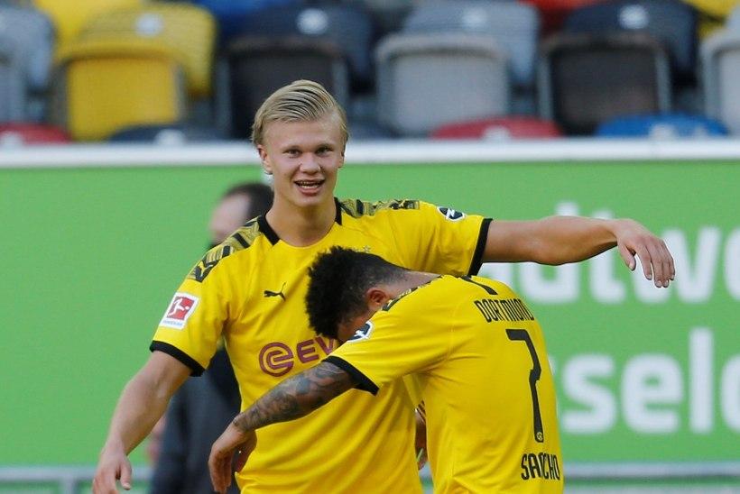 Haaland tõi Dortmundile viimasel hetkel võidu ja lükkas Bayerni tiitlipeo edasi