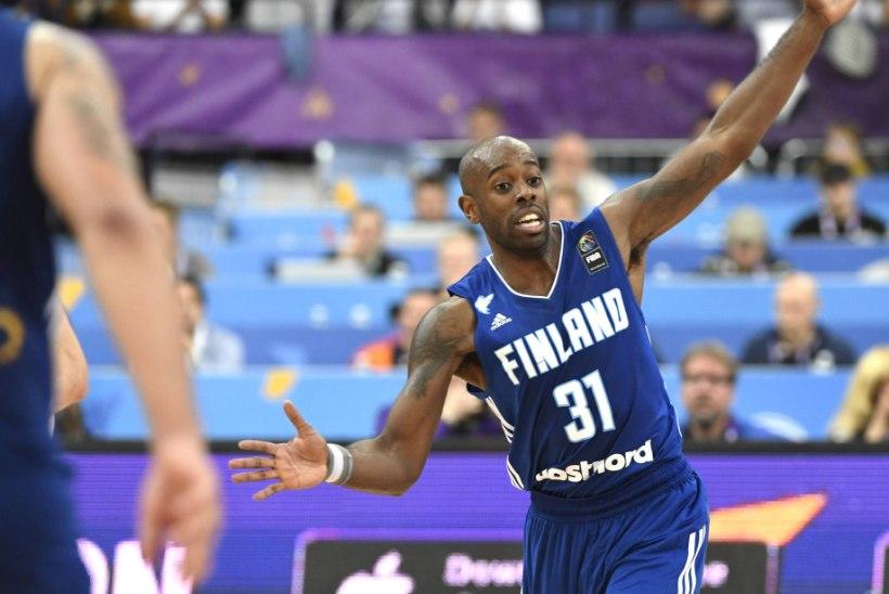Mustanahaline Soome korvpallur: mind on väljakul ühel korral rassistlikult solvatud. See oli mängus Eestiga