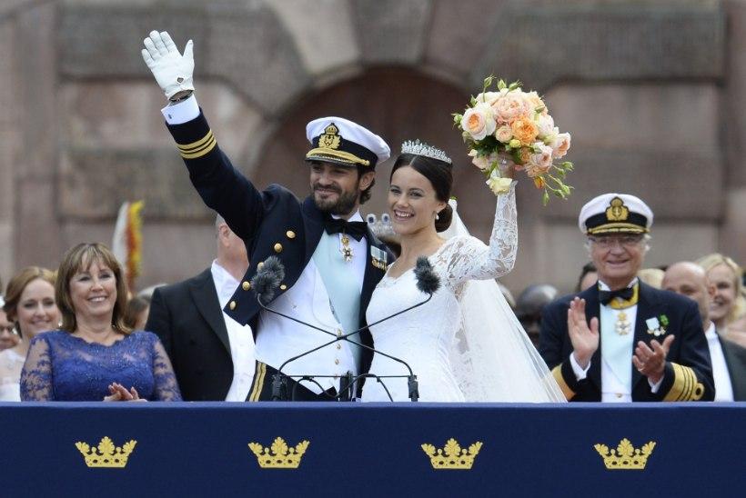 Prints Carl Philip ja printsess Sofia avaldasid haruldased fotod