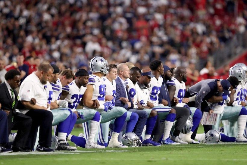 Donald Trump ähvardab spordivaatamise lõpetada, kui mängijad hümni ajal põlvitavad