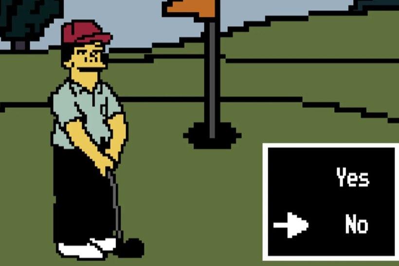 """""""Simpsonitest"""" pärinev maailma igavaim videomäng on nüüd ka reaalselt mängitav"""