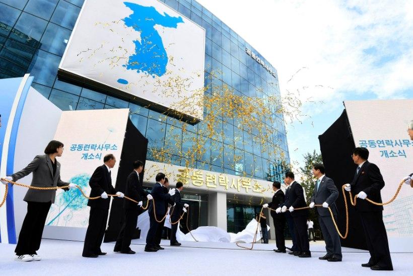 SIDE LÕPP! Põhja-Korea lasi õhku piiriületuskoha lõunanaabriga