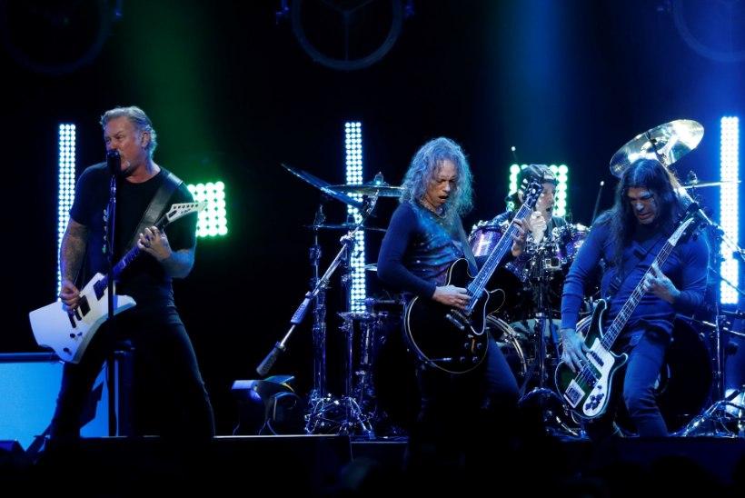 FOTO   Kas Metallica mehed tulid tõesti Eestisse uut plaati tegema?
