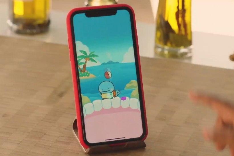 NAERATA! Uues mobiilimängus püüad Pokemone hambapesuga