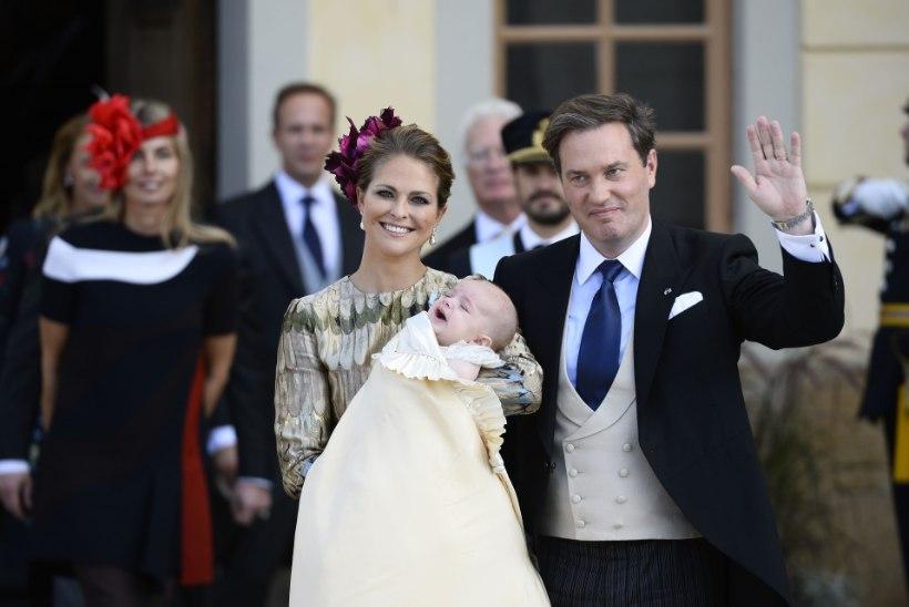 Rootsi printsessi Madeleine'i poeg Nicolas sai juba viieseks