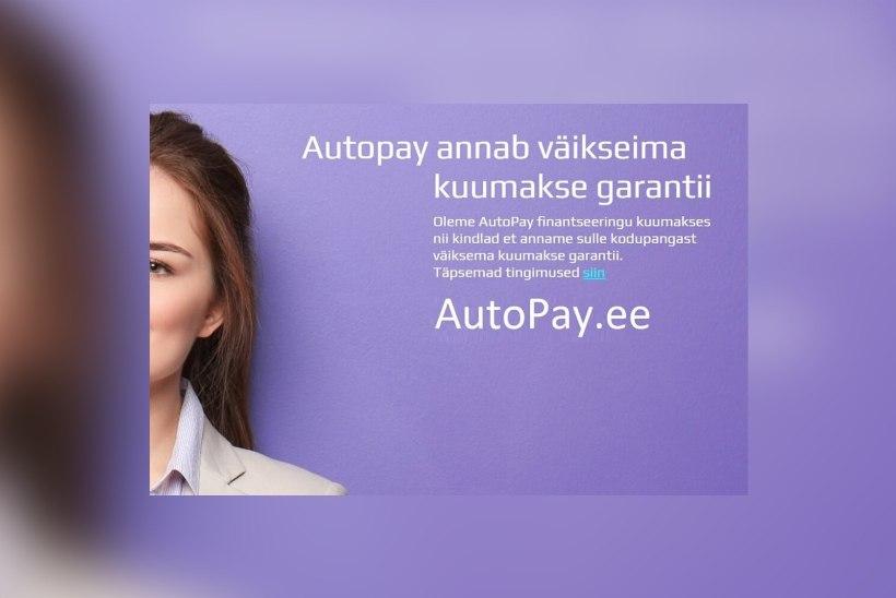 Autopay.ee – väikseima kuumaksega autolaen Eestis