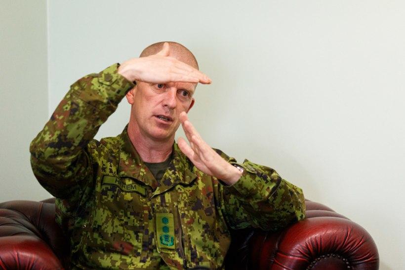 """Kindral Martin Herem: """"Sõjalises mõttes ei ole Venemaa usaldusväärne naaber."""""""