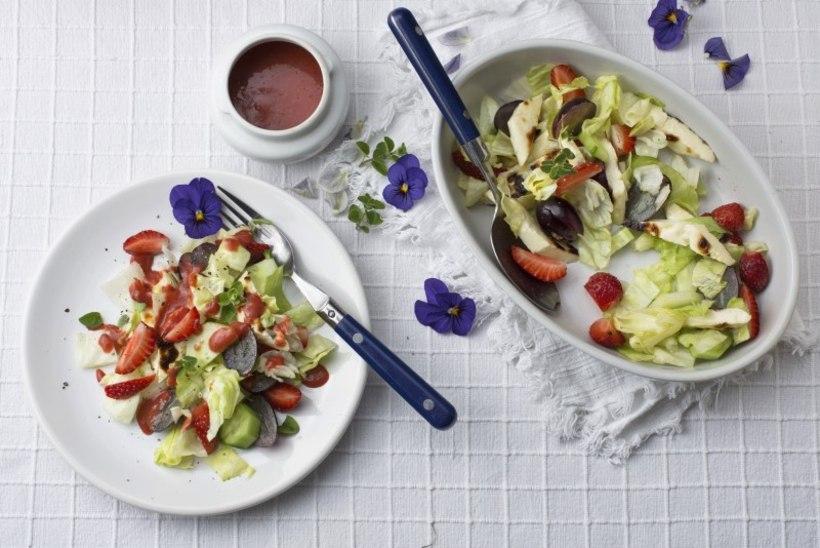 PUHKUSEAJA AVAAMPS | Maasika ja Lapi juustu salat
