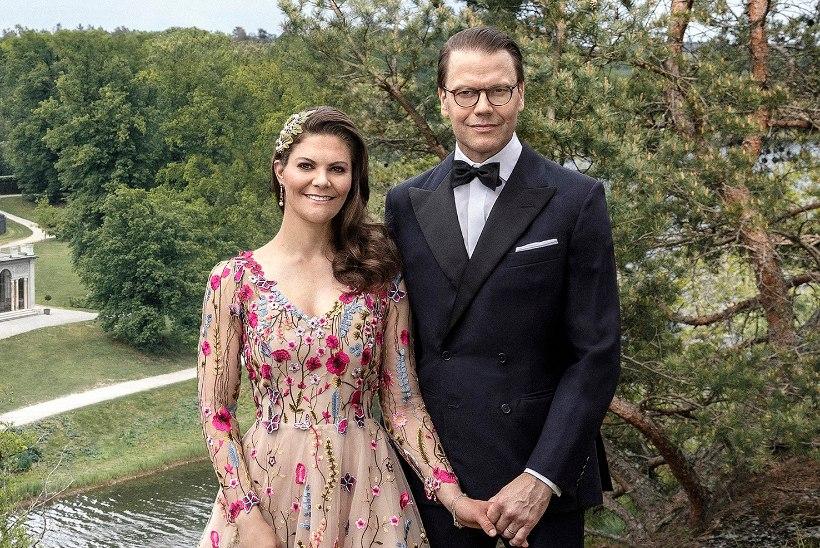 Rootsi õukond avaldas printsess Victoria 10. pulma-aastapäeva puhul armsa foto