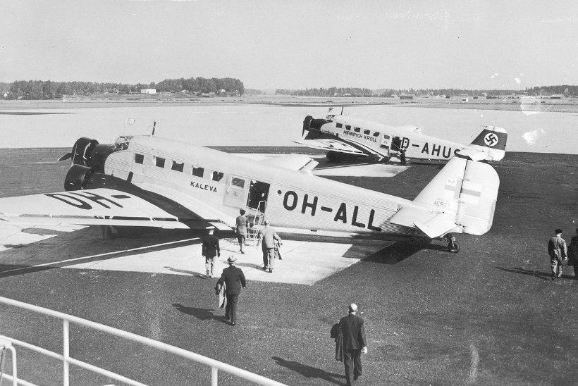 Eesti vabariigi okupeerimine algas Soome reisilennuki allatulistamisega