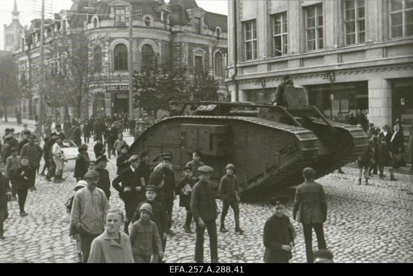 Eesti esimene tank tuli Inglismaalt
