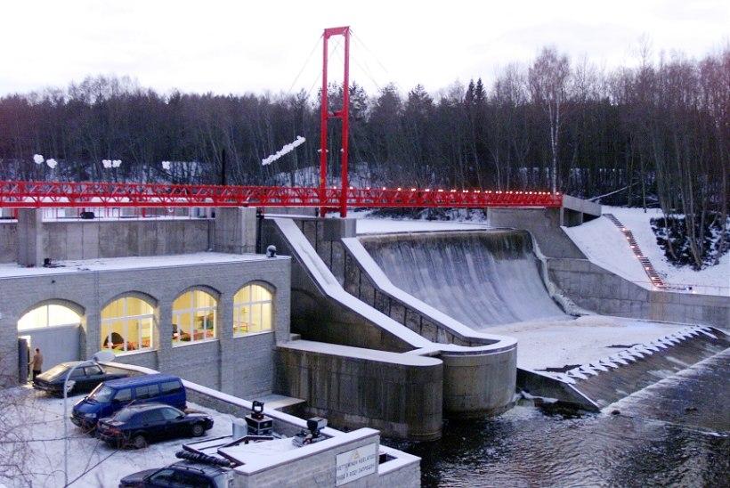 ENNE JA NÜÜD   Elektrijaam Jägala jõel seisab ikka endises kohas