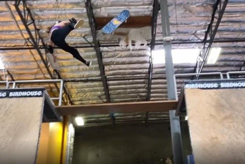 """VIDEO   11aastane rulatalent kukkus treeningul õõvastavalt: """"On õnn, et ta ellu jäi."""""""