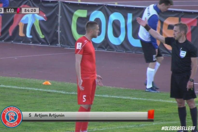 VIDEO | Skandaalne penalti kinkis Kalevile võidu