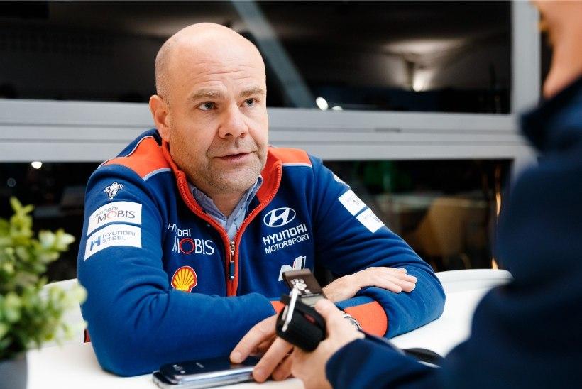 """Hyundai boss selgitas karjääri """"ühe lihtsaima otsuse"""" tagamaid"""