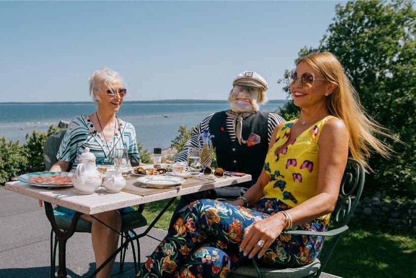FOTOD | Kristiina Ojuland avas oma uhkes Ihasalu häärberis kodurestorani