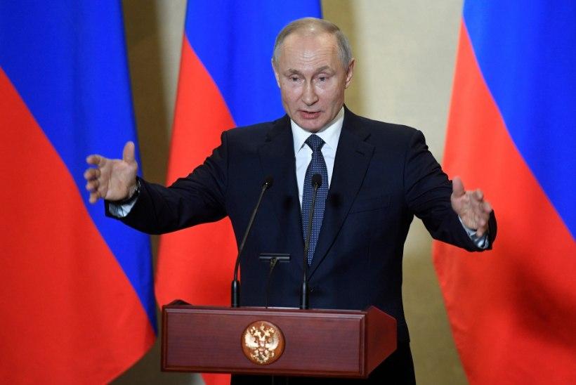 Putin valmistub viiendaks presidendiajaks