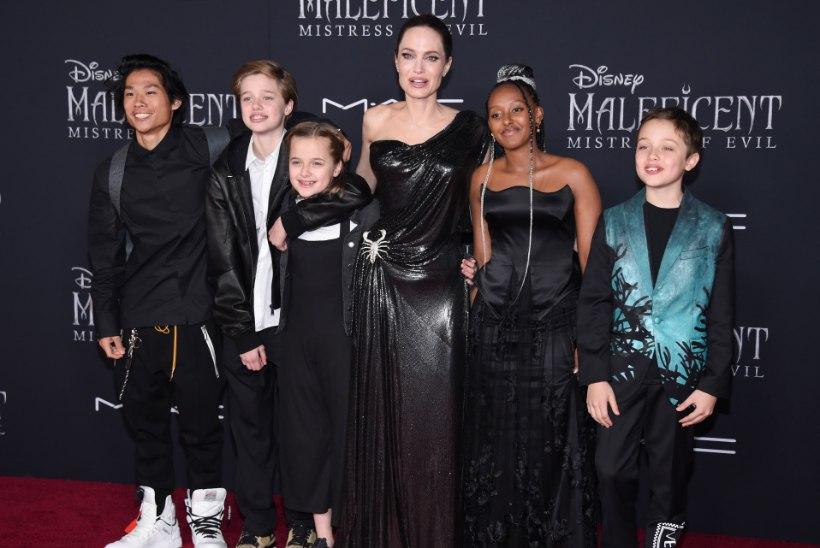 Angelina Jolie annab mõista, et Brad Pitt traumeeris tema lapsi