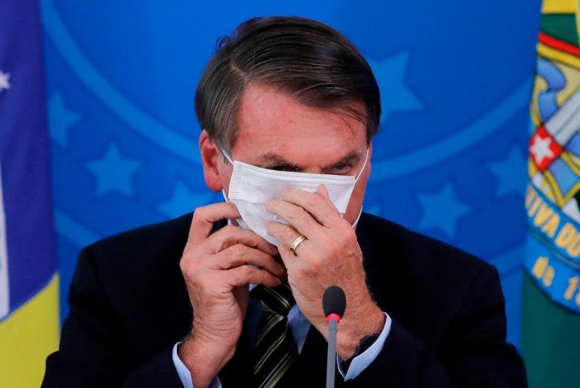 TRAHV SOOLAS: Brasiilia president sai karmi käsu maski kanda