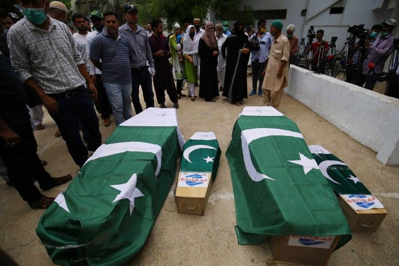 KOROONAHIRM? Pakistani lennukatastroofi põhjustas inimlik eksimus