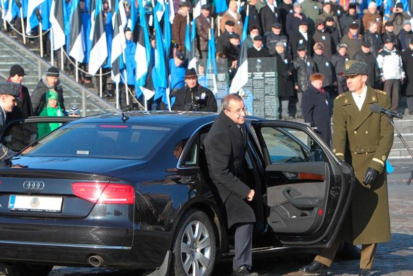 President Kaljulaid jõudis vaidlustajana Ilvesese tasemele, aga Rüütlit ja Meri ei püüa