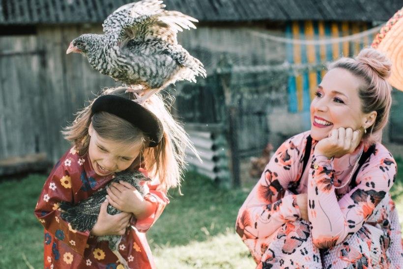 Lenna Kuurmaa kolis perega Setumaa tallu: mõtlesin kogu aeg, et tahaks nii väga siin rohkem olla
