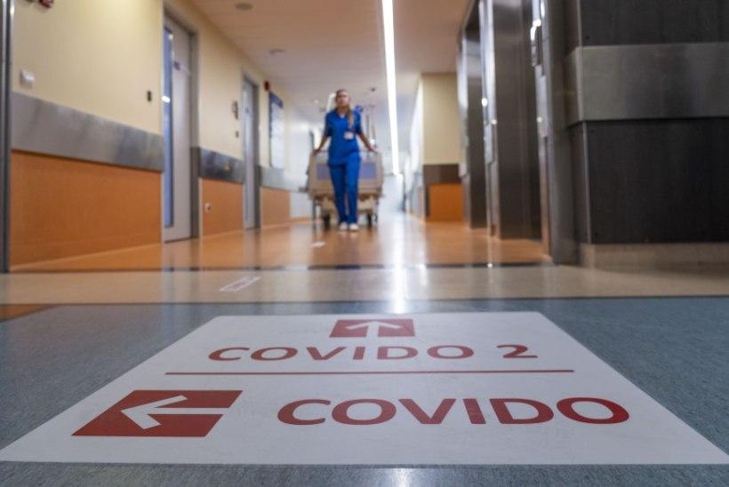 Ööpäevaga lisandus kolm koroonaviiruse diagnoosiga nakatunut