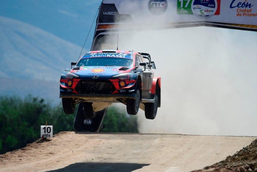 AMETLIK: Lätis autoralli MM-etappi ei toimu