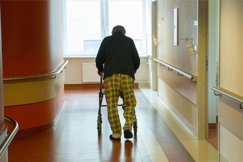 Lugejakiri   Kuidas saab inimene hooldekodust kaduma minna?