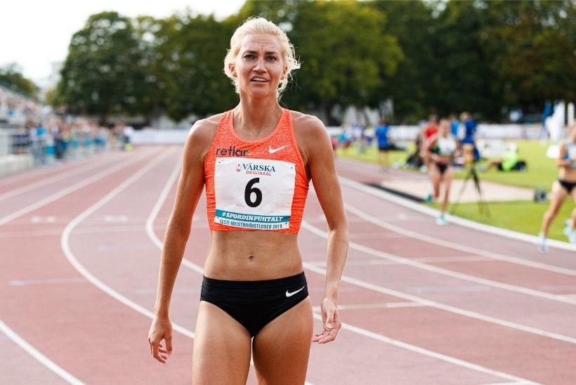 Mitmekordne Eesti meister Liina Tšernov: vahel oleks mulle meeldinud kaotada, aga joosta hea aeg