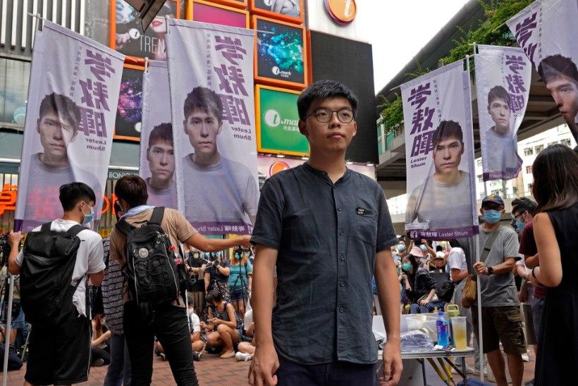 Hongkongi aktivist: olen tõenäoliselt uue julgeolekuseaduse peamine sihtmärk