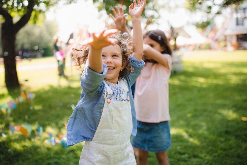 Kuidas lapsi suvel nutimaailmast õue meelitada?