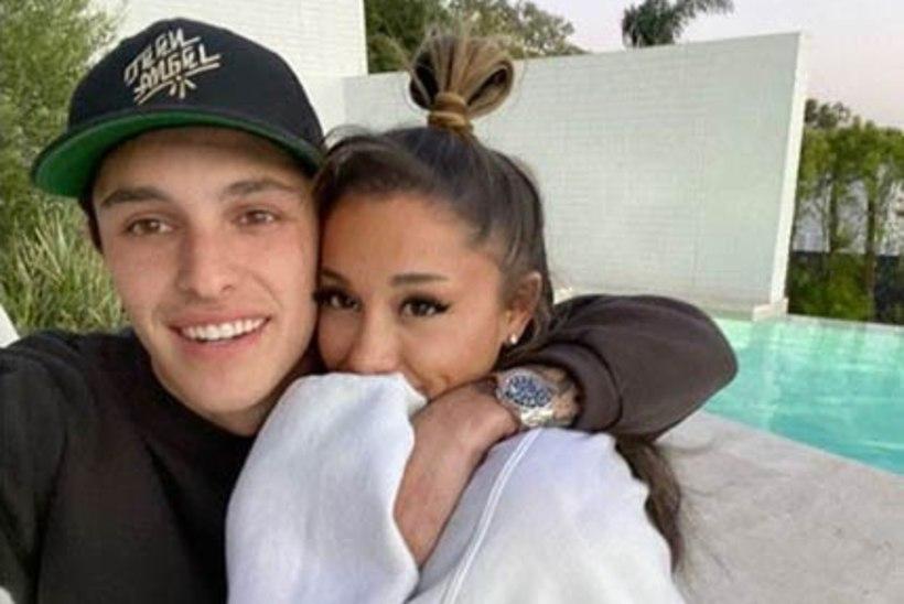 Ariana Grande esitles Instagramis viimaks oma uut kallimat