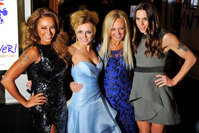 Spice Girls läheb järgmisel aastal maailmaturneele