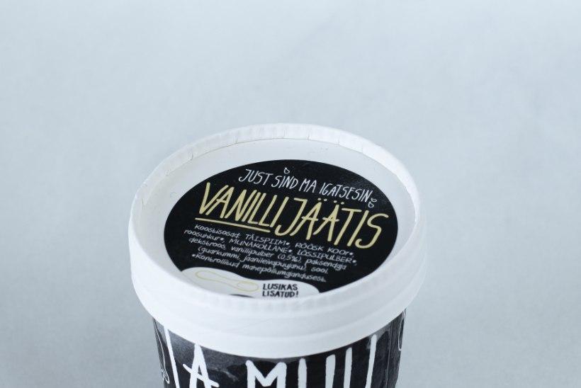 TIIU TESTIB | Vana hea klassikaline vanillijäätis – kas ikka alati?