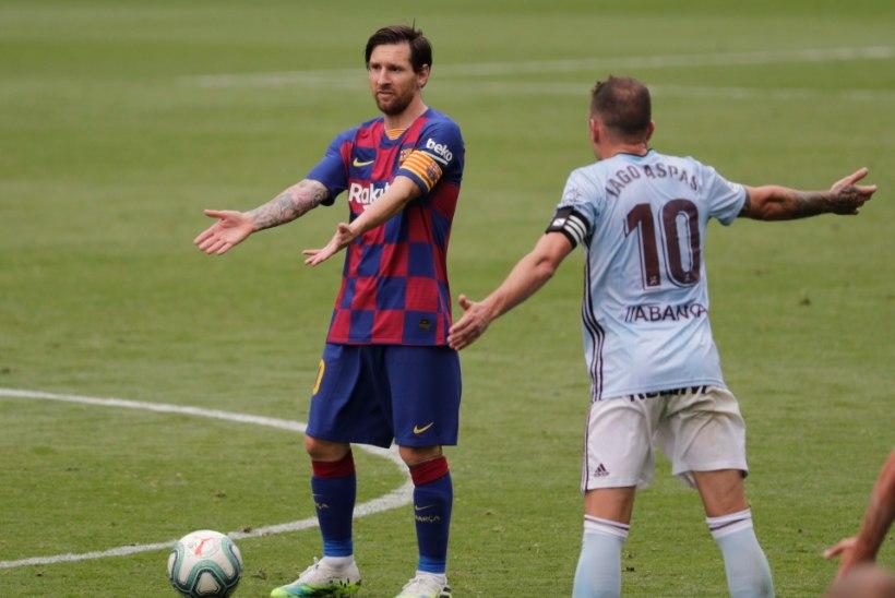 Barcelona pääses kahel korral juhtima, kuid pidi lõpuks ikkagi väärtuslikke punkte loovutama