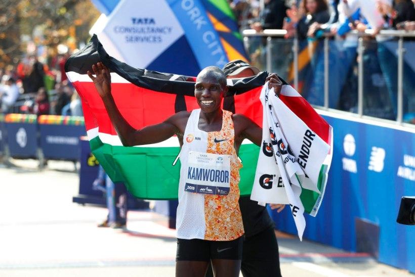 Poolmaratoni maailmarekordimees jäi hommikujooksul mootorratta alla ja vajas operatsiooni