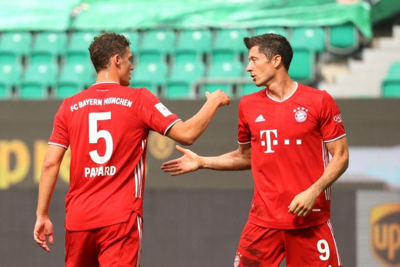 Bayern lõpetas hooaja suure võiduga, Lewandowski jõudis võimsa tähise lävele