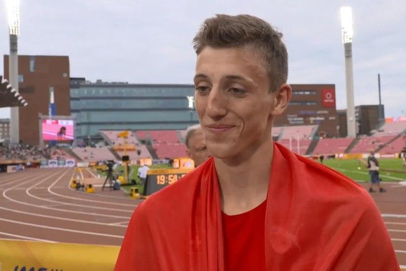 20aastane Šveitsi kümnevõistleja tegi kaugushüppes supertulemuse