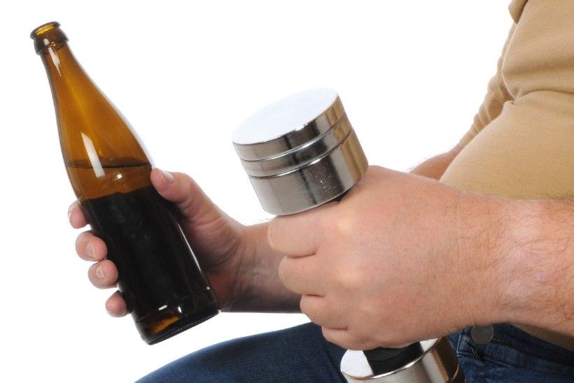 Kas pärast trenni võib endale ühe napsu lubada?