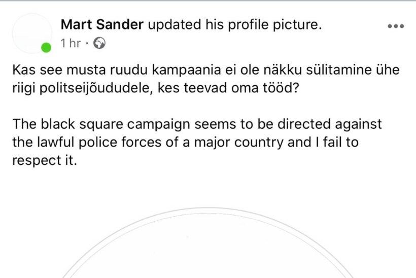 Eesti staarid räägivad rassismiga seotud valusatest kogemustest, Mart Sander leiab, et sotsiaalmeedias toimuv on politseijõududele näkku sülitamine